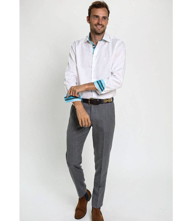 Koy Clothing Luo Grey Trousers