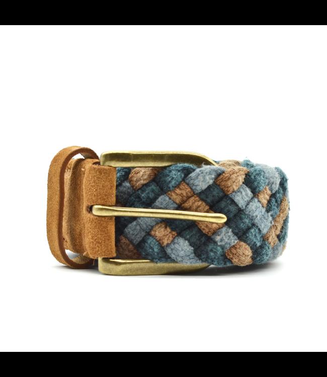 Curated Basics Tan Woven Belt