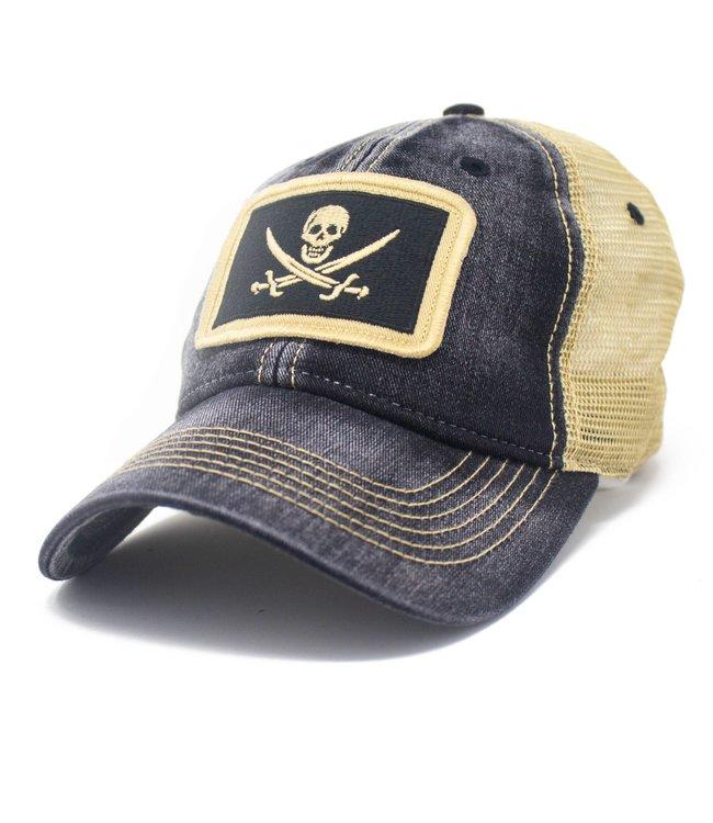 S.L. Revival Co Calico Jack Pirate Hat