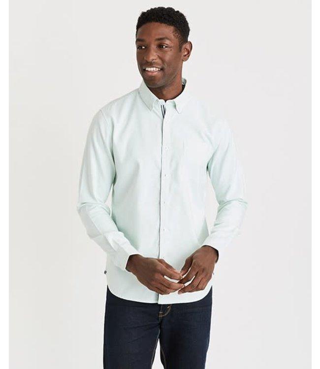 Derbyshire Mint Long Sleeve Work Shirt
