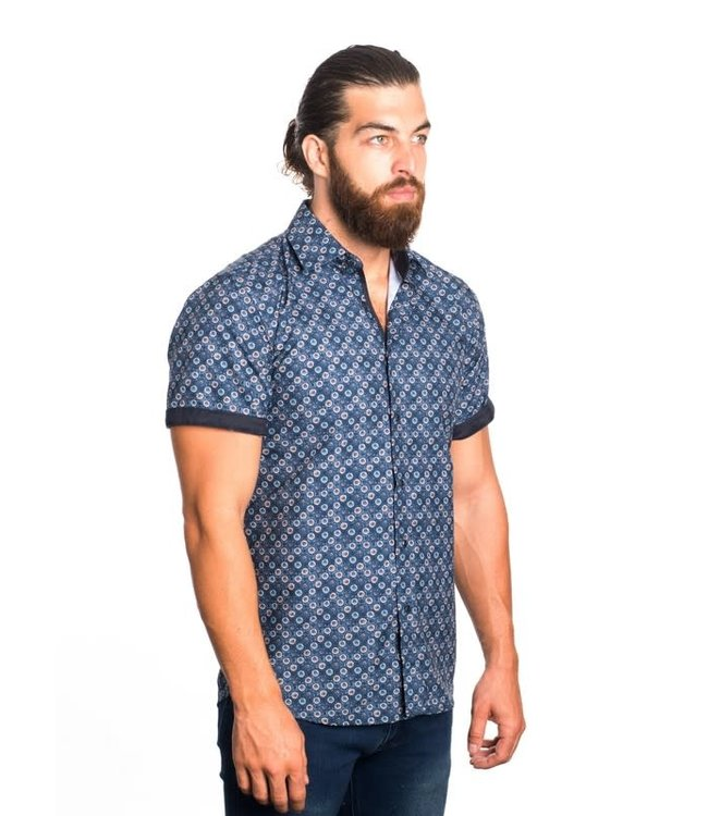 Derbyshire The Rory Short Sleeve Button Down