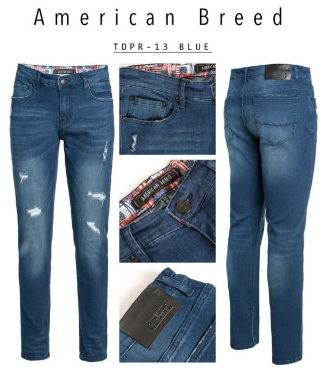 Derbyshire American Breed Distressed Jeans