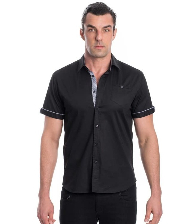 Derbyshire The Eric Short Sleeve Button Down