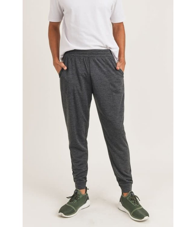 Mono B Tapered Contrast Blend Jogger
