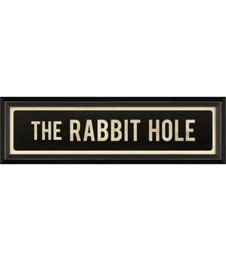 Spicher and Company The Rabbit Hole Street Sign