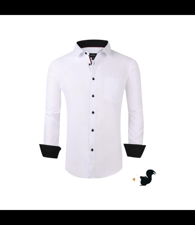 Pavini Classic White Button Down
