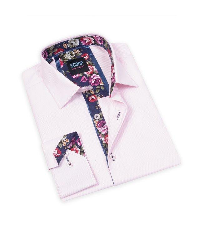 Maison Leneveu Pink Long Sleeve Button Down