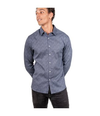 Stitch Note Night Is Young Long Sleeve Shirt