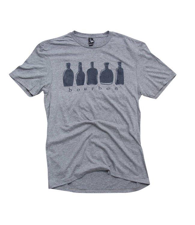 Barrel Down South Bourbon Bottles T-Shirt