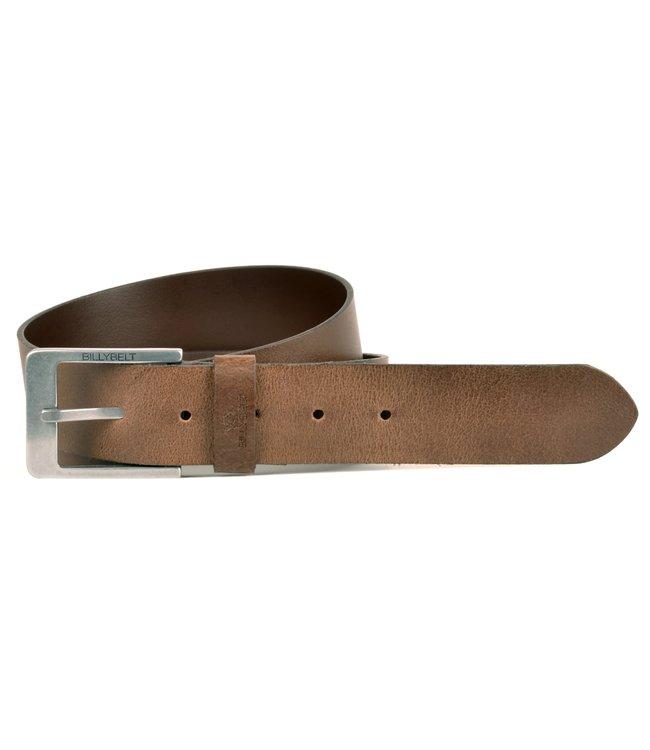Billybelt Cognac Leather Belt Raw Effect