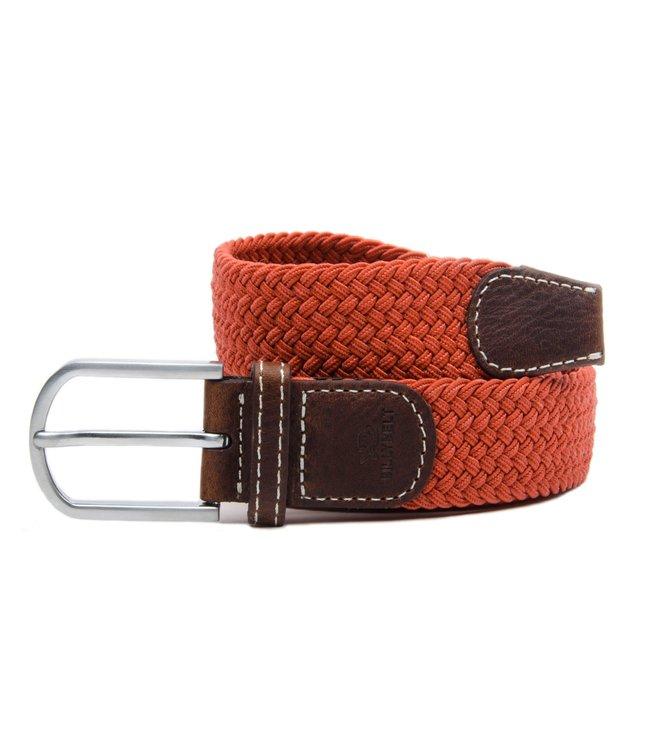 Billybelt Terracotta Woven Elastic Belt