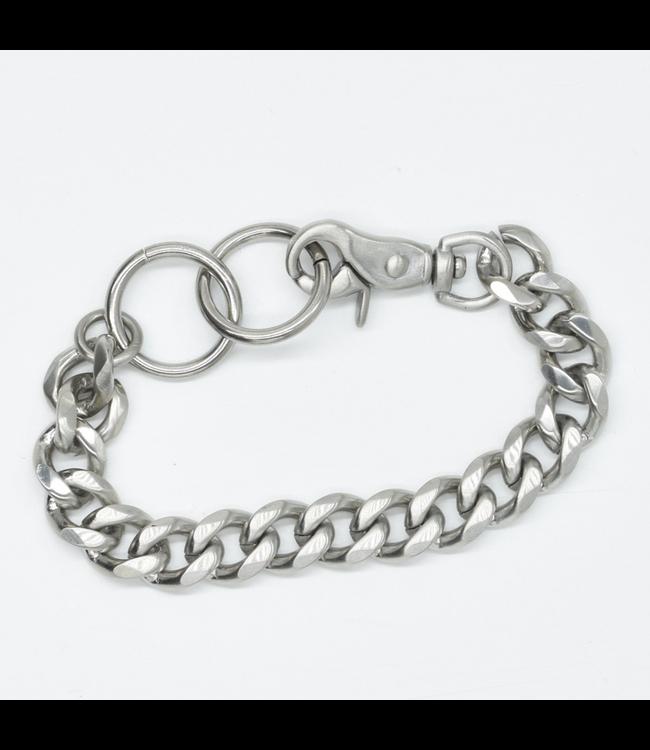 Curated Basics Steel Chain Swivel Clasp Bracelet
