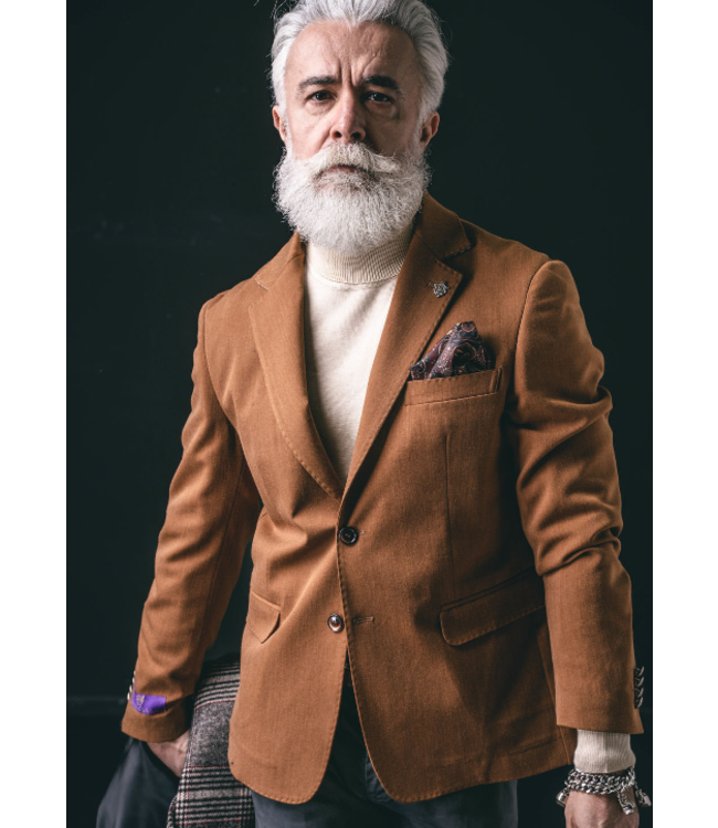 Karl Mommoo Homme Mosca Camel Jacket