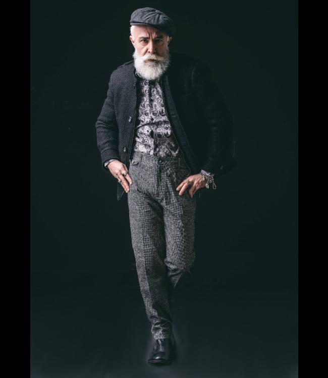 Karl Mommoo Homme Micro Design Pants-Geranio Stampato