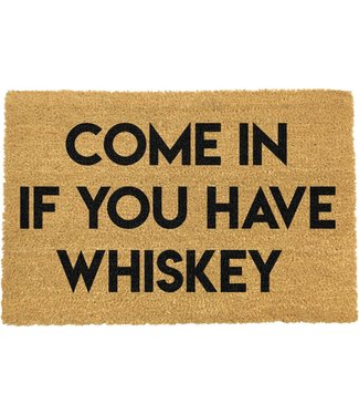 artsy doormats Come in Whiskey Doormat