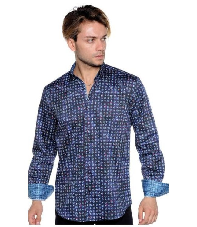 Mizumi Couture Malone Long Sleeve Button Down