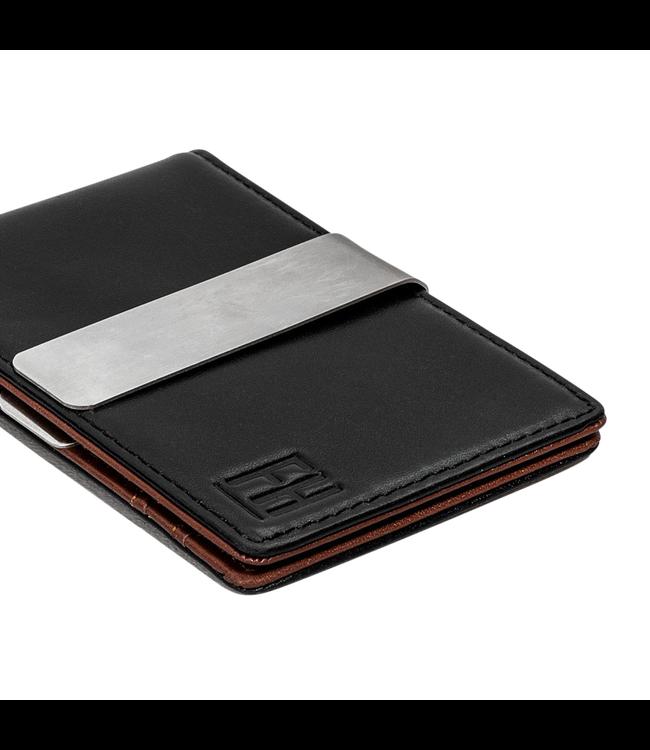 Forrest & Harold Black & Brown Money Clip Wallet