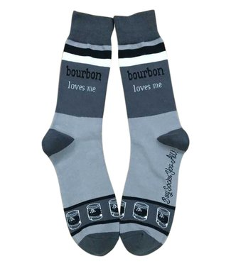 Buy Socks You All Bourbon Loves Me Socks