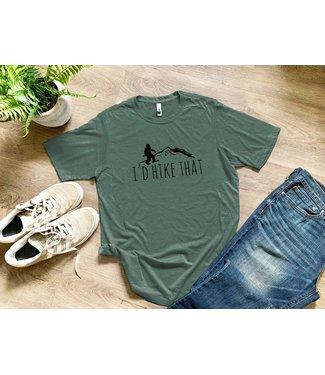moonlight makers I'd Hike That T Shirt