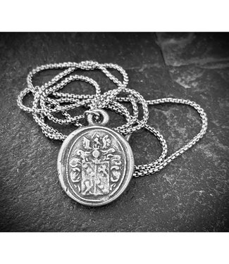 Johnny Ltd. Wax Seal Charm Necklace