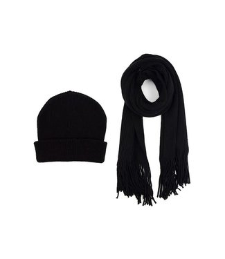 Selini Navy Hat & Scarf