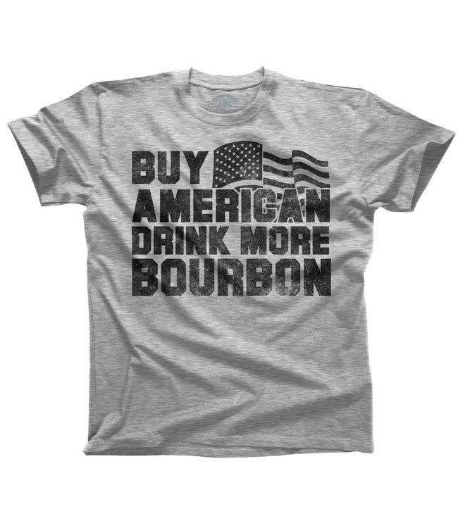 Boredwalk Drink More Bourbon T-Shirt