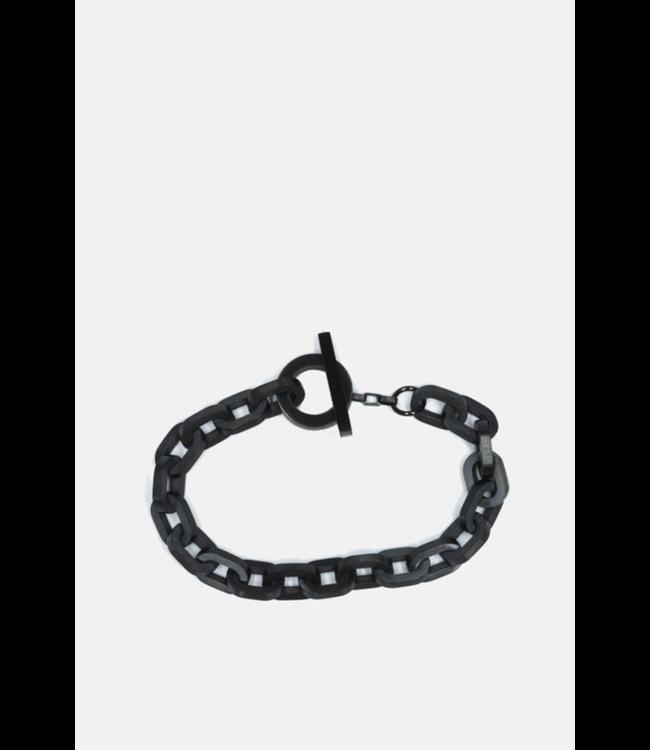 Curated Basics Black Chain Bracelet
