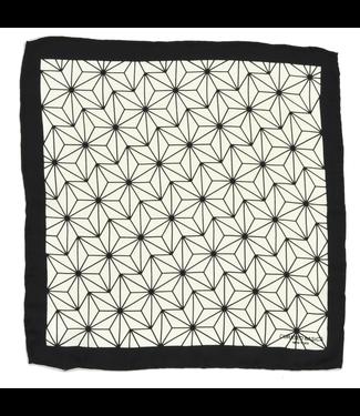Curated Basics Geometric Pocket Square
