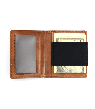 Curated Basics Slim Wallet with Elastic Strap