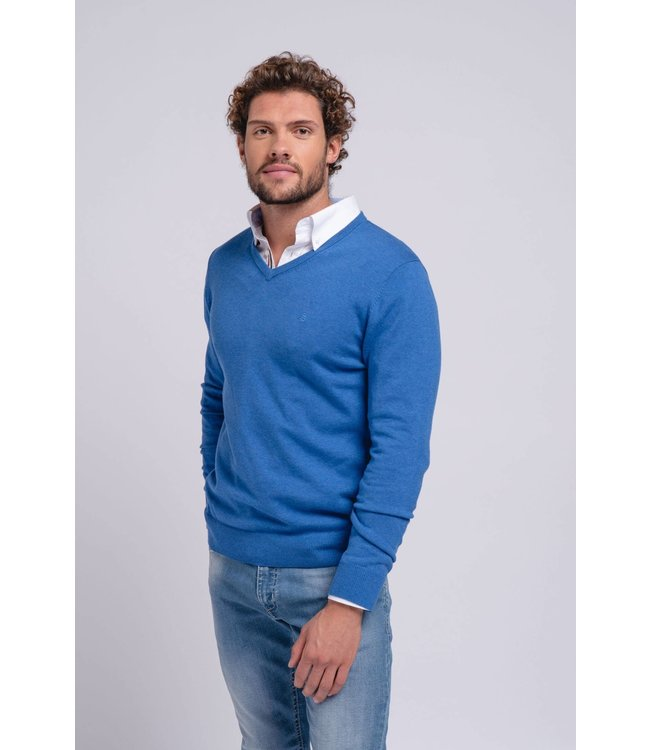 SMF SMF Lightweight V Neck Sweater