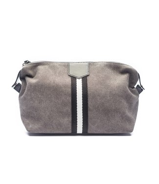 Brouk and Co. Grey Toiletry Bag