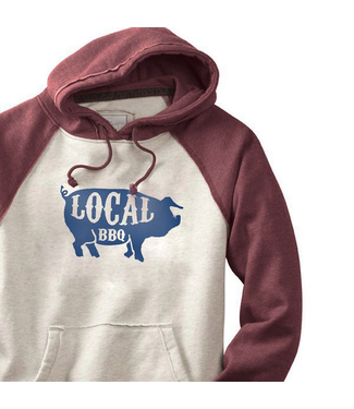 S.L. Revival Co Local BBQ Pig Hippy Hoodie