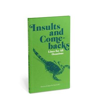 Knock Knock Insults & Comebacks Paperback Edition