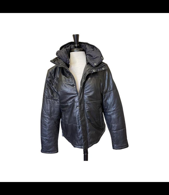 Mauritius D Rale CF Black Leather Jacket