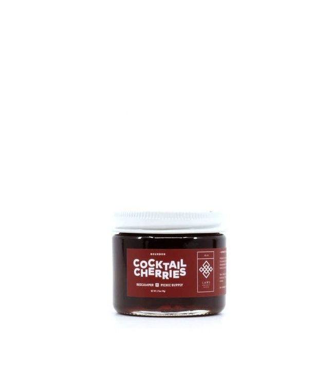 Red Camper Bourbon Cocktail Cherries 2.75oz