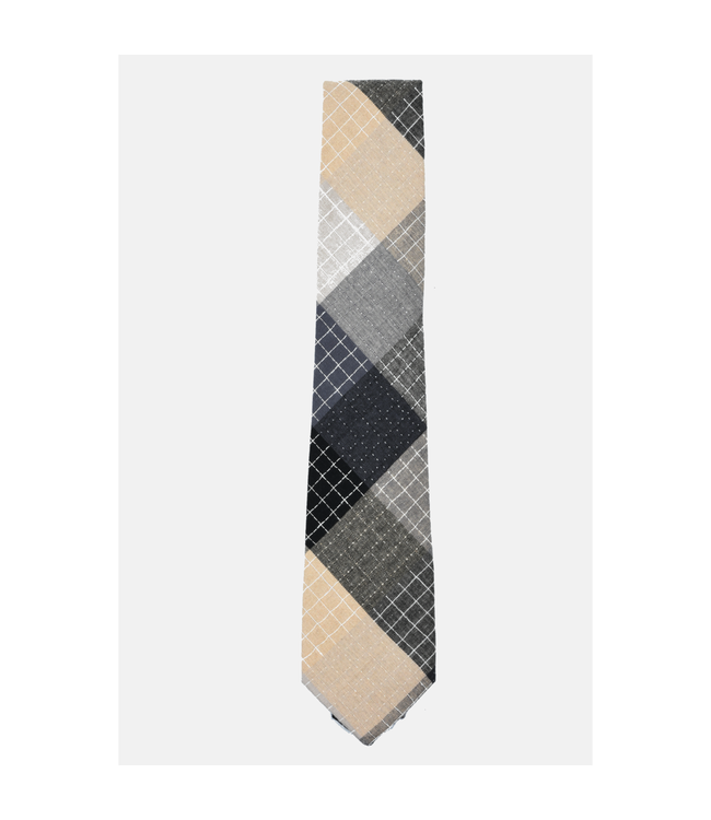 Curated Basics Patchwork Tie