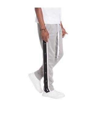 WEIV Dual Side Stripe Snap Button Sweat Pants