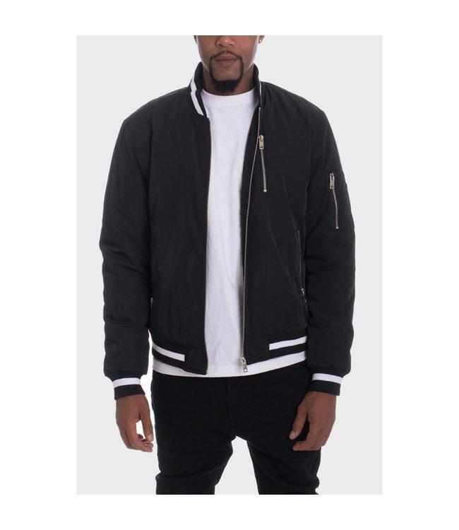 WEIV Luxury Padded Twill Jacket