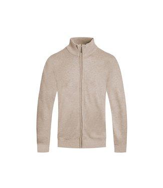 WEIV Full Zip Knit Sweater Jacket