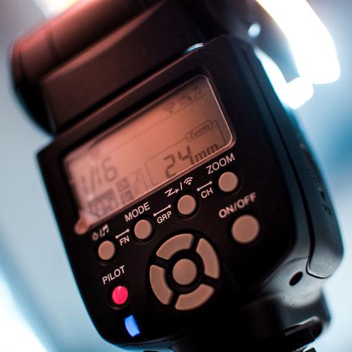 Flashes & On-Camera Lighting