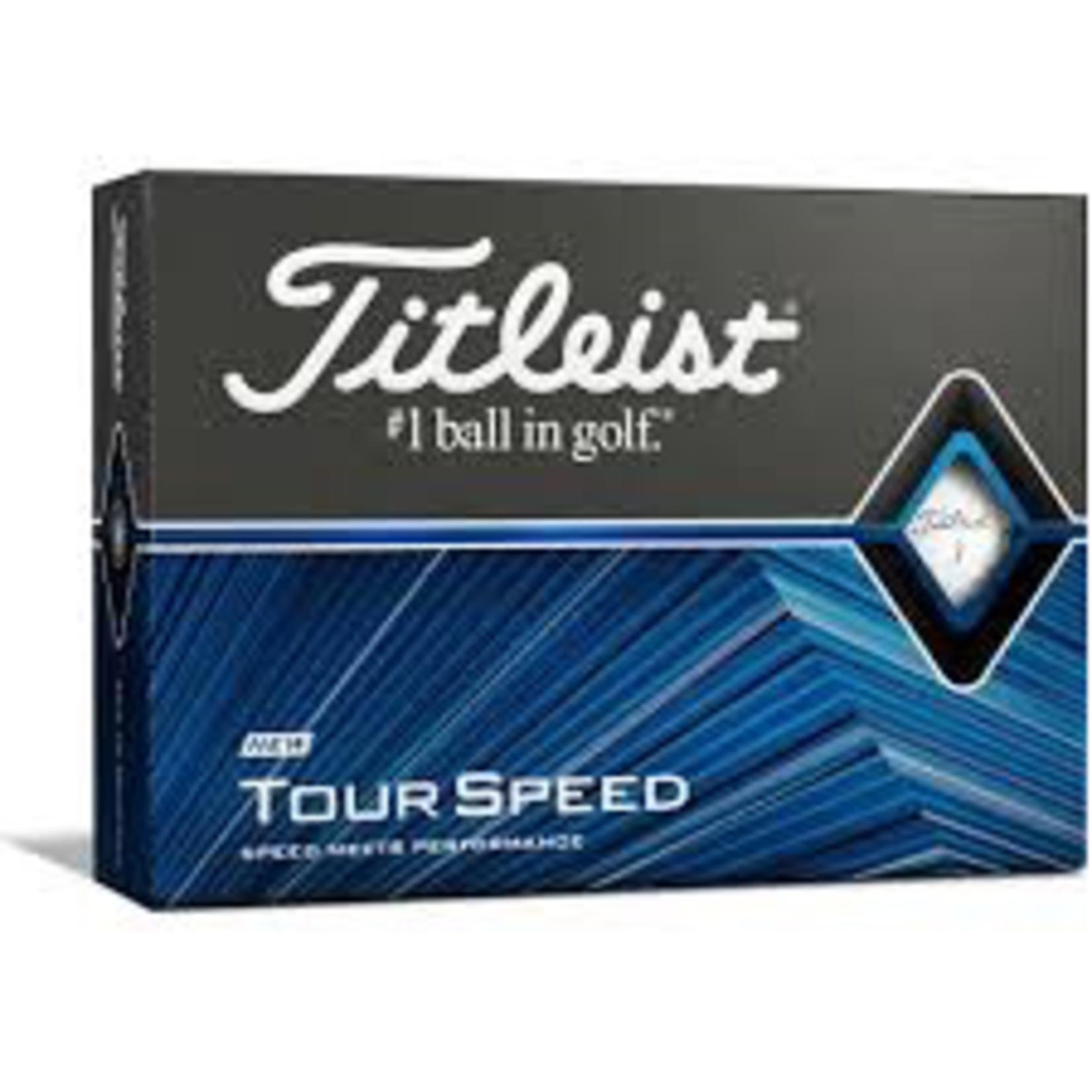 TITLEIST TITLEIST TOUR SPEED BALLS DOZEN
