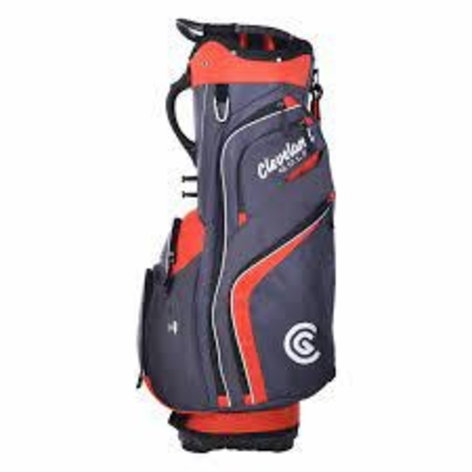 CLEVELAND CLEVELAND CG CART BAG CHARCOAL/RED