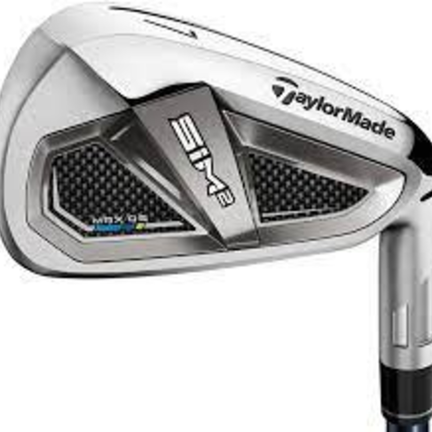 TAYLORMADE TAYLORMADE SIM 2 MAX OS IRONS STEEL 5-PW,AW