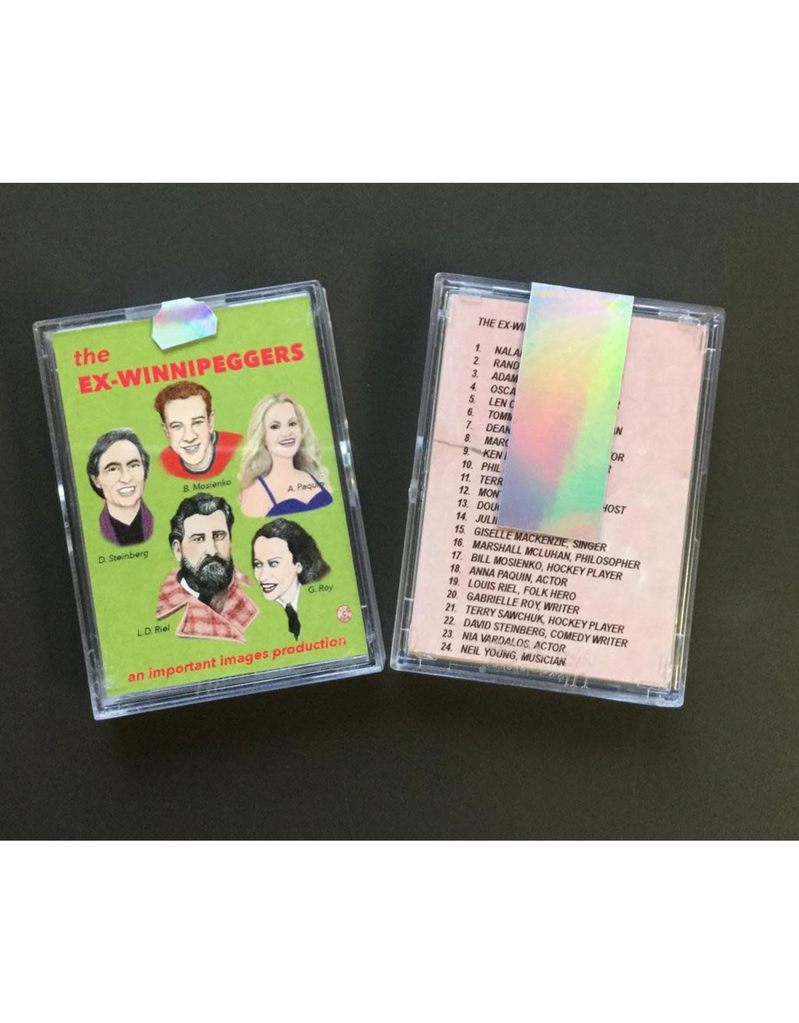 Hewak, Don the Ex-Winnipeggers, Trading Cards
