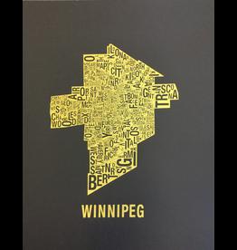 Wiebe, Jaclyn Map Print, Print