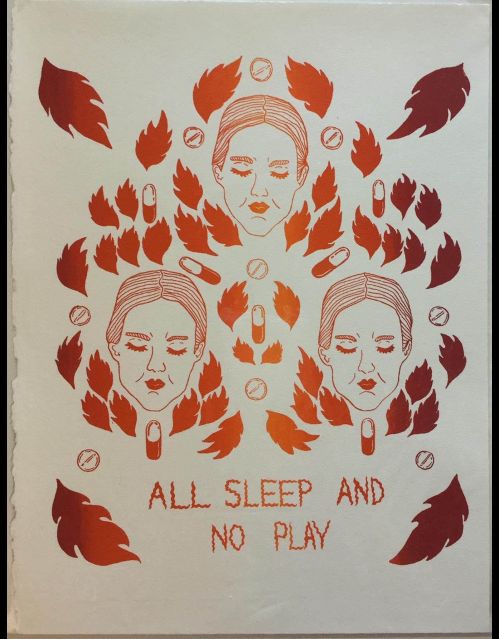 Mayer, Emma All Sleep No Play, Print