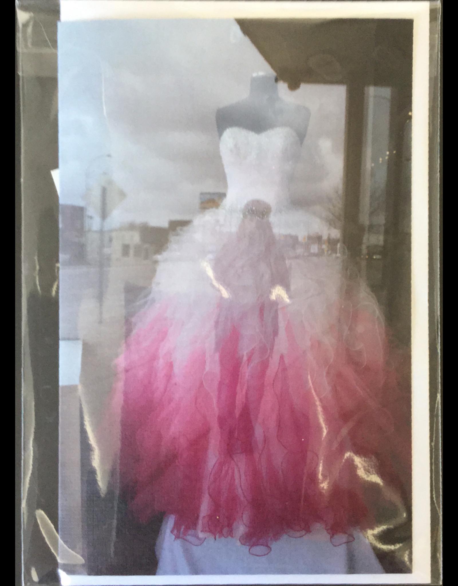LeBlanc, Marie Red Dress, Card