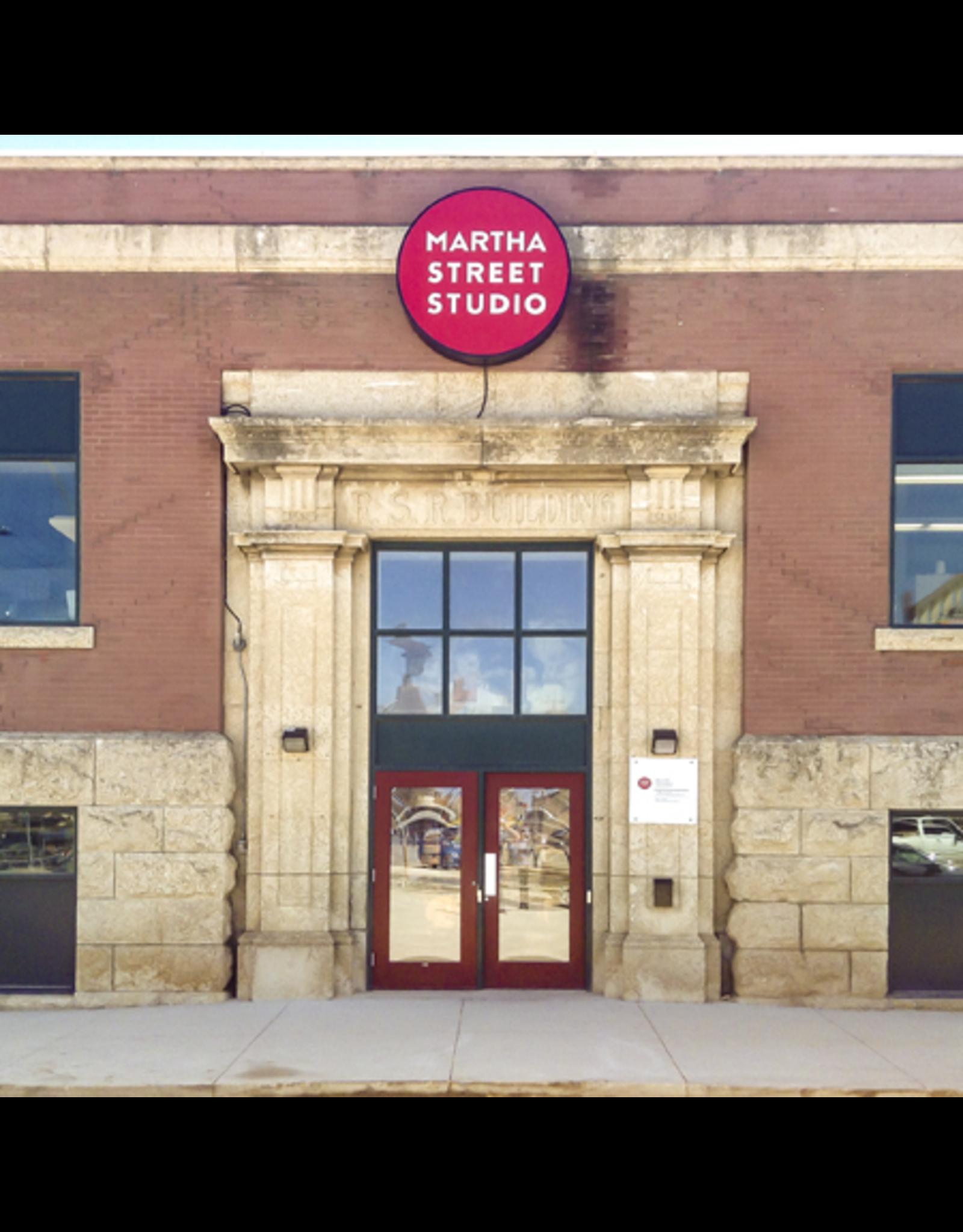 Martha Street Studio 1 year membership - Seniors, Students, Low Income