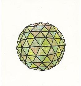 Josephson-Laidlaw, Erin Untitled (watercolour biosphere), Erin Josephson-Laidlaw