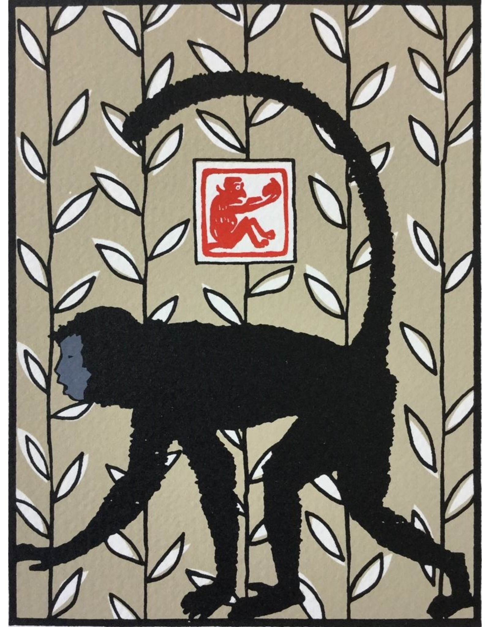 Valko, Andrew Year of the Monkey (beige), Andrew Valko